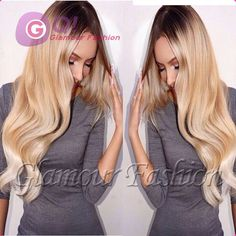 Cheap wig long hair, Buy Quality hair wigs black women directly from China hair volumizer wigs Suppliers: GQ full lace human hair wigs for black women ombre brazilian wig ombre lace wig lacefront human hair wigs glueless baby
