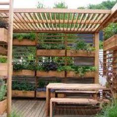 Planter box idea for my garden.