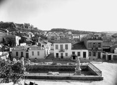 Overview: The Site before Excavation Old Photos, Vintage Photos, Bauhaus, Athens Greece, Paris Skyline, The Neighbourhood, The Past, Greek, Island