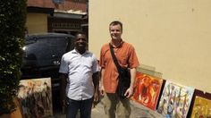 Debo and Doug in Kinshasa