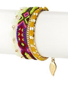 65% OFF Sara Designs Yellow Friendship Bracelet