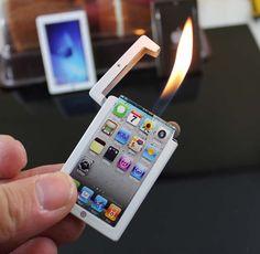 ipad mini lighter Almost makes me wish I hadn't quit smoking...
