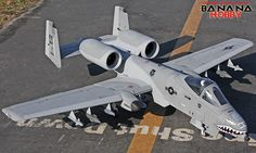 Super A-10 Warthog Thunderbolt II RC EDF Jet KIT - Radio Controlled Super A-10 Warthog Thunderbolt II RC Fighter - RC