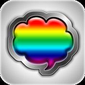Free Color Text Messages+ on iTunes - so fun to add some personality to your texts!