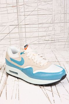 Nike Air Max 1 Vintage Trainers in Turquoise at Urban Outfitters