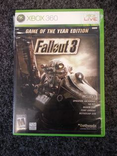 Fallout 3 game of The Year Edition For Xbox 360 Sold! Was available at Gadgets and Gold in Gainesville, FL!