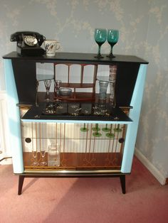 Art Deco Cocktail Cabinet · Vintage BarVintage ...