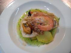 Valenciagastronomic: Suquet de cabracho y patatas. (stew large-scale scorpion fish )