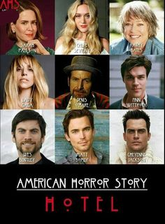 American Horror Story Season 5 Hotel - Kathy looks FANTASTIC in this! And whoa, hello, Cheyenne Jackson American Horror Story Series, American Horror Story Seasons, Evan Peters, Ahs Hotel, Cheyenne Jackson, Best Shows Ever, Best Tv, Horror Stories, Favorite Tv Shows