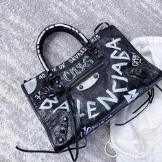 "NOBLEMARS l Online Store on Instagram: ""Graffitti on a class city, what do you think? . . #noblemars #noblemars_official #balenciaga #balenciagabag #balenciagacity #bag…"""