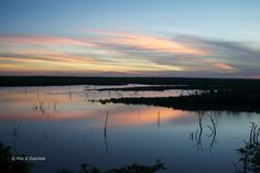 Un'emozionante tramonto al Kruger National Park...