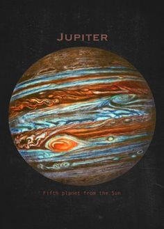 Our Solar System Displate Poster Jupiter jupiter Space Solar System, Our Solar System, Space Planets, Space And Astronomy, Cosmos, Planet Pictures, Jupiter Planet, Terry Fan, Galaxy Painting