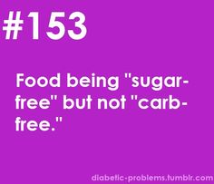 and said food actually ends up have 2x the carbs of the regular version haha