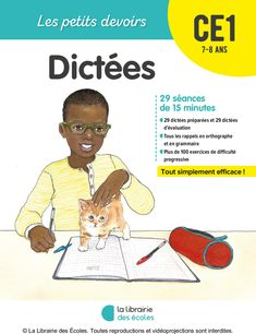 Little homework Little homework years old Dictation Training to succeed Whatever your child's level, training is the key to success. By doing exercises, he will acquire automatisms which . Hans Christian, Agatha Christie, Learning Activities, Kids Learning, Sam Mcbratney, French Expressions, French Grammar, French Classroom, French Lessons
