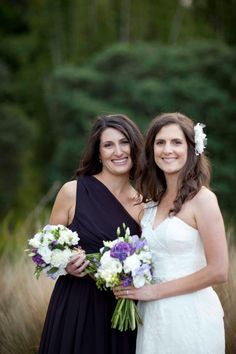 Gorgeous Bride & bridesmaid in   www.seralilly.com