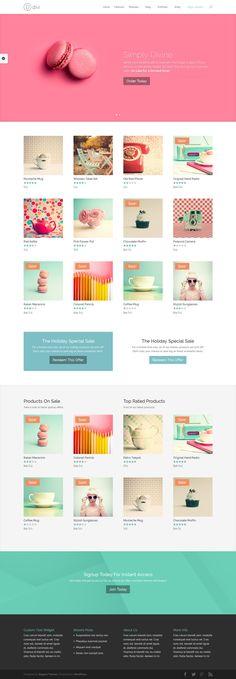 DIVI THEME by CreAtive Web Themes, via Behance