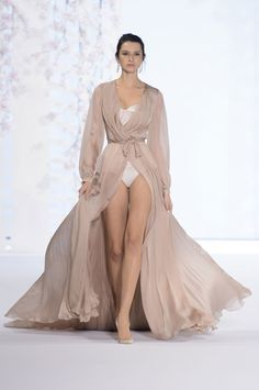 The most glamorous swimsuit coverup I've seen this year  :: Ralph and Russo Couture Spring/Summer 2016