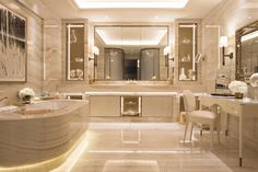 Afbeeldingsresultaat voor most luxurious Presidential Suite bathroom