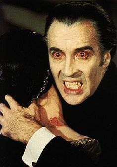 """Count Dracula (Christopher Lee)"" -  when the British produced the classic monster movies ~:^]>"