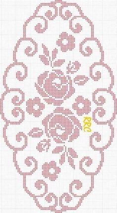Heklanje Za Tebe I Mene 603 – Heklanje Crochet Art, Crochet Home, Thread Crochet, Crochet Motif, Crochet Designs, Crochet Doilies, Cross Stitch Borders, Cross Stitch Flowers, Cross Stitching