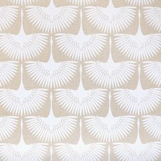 A neutral bird fabric in a sandy cream and white palette. Makes perfect drapery fabric and is suitable for upholstery, roman blinds, cushions, pillows and othe