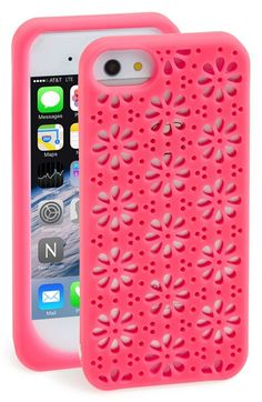 kate spade new york 'flowers' cutout iPhone 5 & 5s case available at #Nordstrom