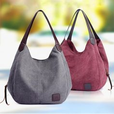 df2f5ff6d1ac Women s Canvas Handbags Vintage High Quality Female Hobos Single Shoulder  Bags