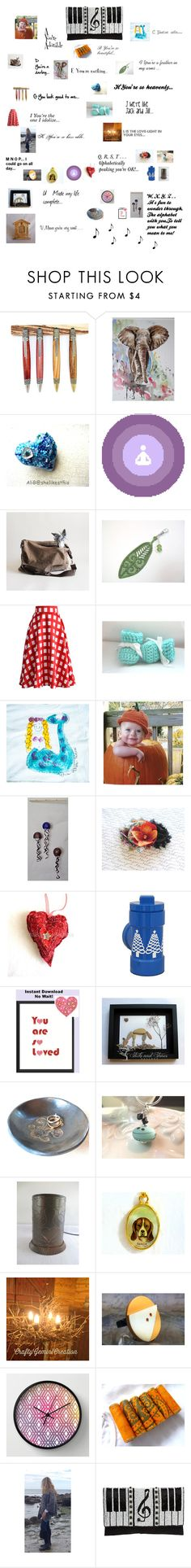 """""""This Is How You Sing Your Way To Holiday Shopping!"""" by pippinpost ❤ liked on Polyvore featuring Aquarelle, Chicwish, Mary Frances Accessories, etsy, gifts and integrityTT"""