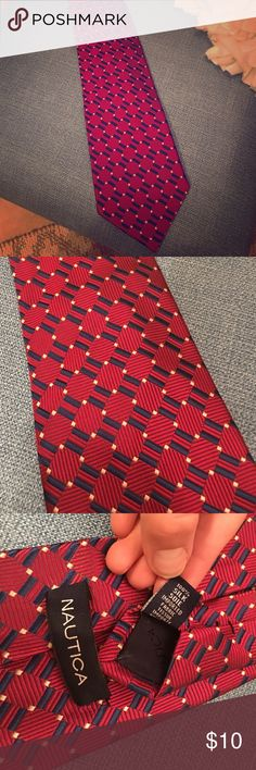 Nautica silk tie Mint condition. Will ship asap. All ties listed are $10 or bundle and save- 5 for $40. Nautica Accessories Ties
