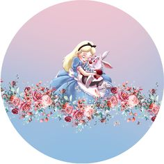 Alice In Wonderland Tea Party Birthday, Alice In Wonderland Drawings, Edible Printing, Disney Silhouettes, Mad Hatter Tea, Disney Junior, Decoupage Paper, Concert Posters, Princesas Disney