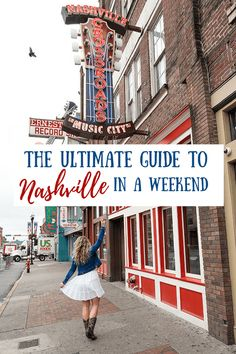 Our Nashville travel guide covers the best time to visit, where to stay, things to do, where to eat and more. All of which can easily be done in a weekend! #nashvilletravel #travelguides #nashvilletips
