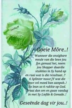 Evening Greetings, Good Morning Greetings, Good Morning Wishes, Good Morning Friends Quotes, Good Morning Inspirational Quotes, Prayer Quotes, Bible Quotes, Afrikaanse Quotes, Goeie More
