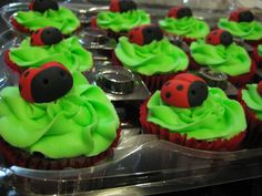 Ladybug By: Party Lovers Cupcakes www.facebook.com/partyloverscupcakes