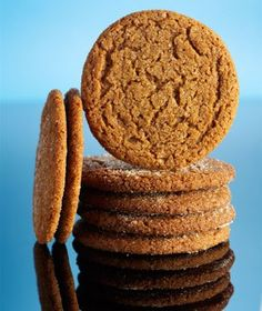 Chewy Spice Cookies|Kick off the holiday season with these easy cookies, which are spiced up with plenty of cinnamon, nutmeg, ginger, and cloves. Molasses helps keep them moist and chewy.