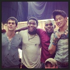 The wrap of the last scene on the Maze Runner.