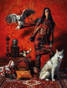 Indonesian Models Nomad Fashion, Tribal Fashion, Fashion Editor, Editorial Fashion, Fashion Art, China Fashion, Bohemian Fashion, Tribal Mode, Art Photography