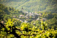 Ville d'Albertville . Cité médiévale de Conflans http://www.gpps.fr/Guides-du-Patrimoine-des-Pays-de-Savoie/Pages/Site/Visites-en-Savoie-Mont-Blanc/En-Tarentaise-73/Albertville-Conflans