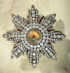 Iran Ghajar Persia Order of Lion and Sun Set in Diamonds and Rubies