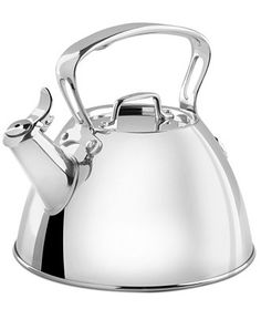 All-Clad Stainless Steel Tea Kettle - Cookware - Kitchen - Macy's