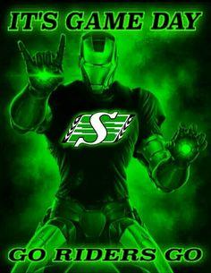 Go riders go ! Go Rider, Saskatchewan Roughriders, Philadelphia Eagles Super Bowl, Darth Vader, Canada, Green, Fictional Characters, Saint Seiya, Fantasy Characters