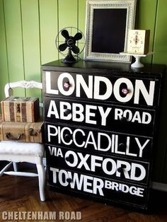 If you've always wanted to re-do a piece of furniture, check out these 14 ideas, with refurbished dressers ranging from stenciled to chalkboard!