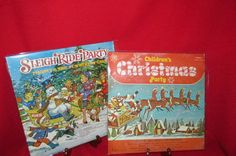Vintage 2 Album Set Children's Christmas Vinyl Lps by trackerjax on Etsy Christmas Tunes, Christmas Vinyl, Christmas Albums, Childrens Christmas, Brass Band, Party Rings, Used Vinyl, The Night Before Christmas