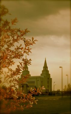 Kansas City, MO LDS Temple Sept 2011 (still under construction) #temple #lds #mormon @Rachael Van Syckel-Pancic