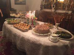 davet sofraları,davet menüsü,davet yemekleri,salatalar,pilavlar,afgan pilavı,