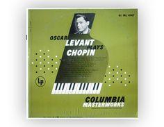 Monogram record album design 1952. Oscar Levant