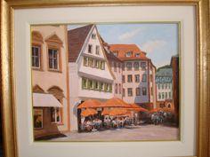 Orange Umbrellas Umbrellas, Paintings, Orange, Art, Art Background, Painting Art, Painting, Kunst, Gcse Art