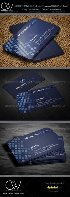 Corporate Business Card Template Vol.36
