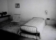 Lilly Reich, chambre à coucher féminine pour Mies van der Rohe, Berlin, 1930-31