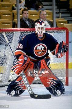 feb-1999-goallie-felix-potvin-of-the-new-york-islanders-in-action-picture-id372092 (395×594) Goalie Pads, Hockey Goalie, Ice Hockey, Action Pictures, Felix The Cats, New York Islanders, Hockey Stuff, Nfl Fans, National Hockey League