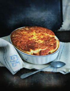Comte Cheese Souffle by Raymond Blanc.